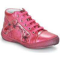 Chaussures Fille Baskets montantes GBB ROSETTA Rose