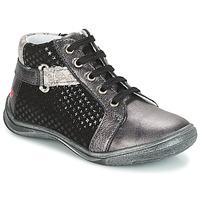 Chaussures Fille Boots GBB RICHARDINE Gris / Noir
