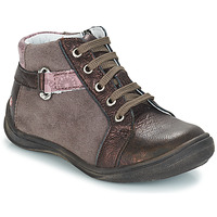 Chaussures Fille Boots GBB RICHARDINE Marron / Bronze