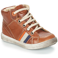 Chaussures Garçon Bottes ville GBB ANGELITO VTE MARRON DPF/2367