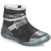 Chaussures Fille Bottes ville GBB ROCHELLE Grsi / Noir