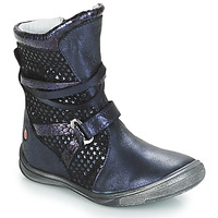Chaussures Fille Bottes ville GBB ROSANA Bleu
