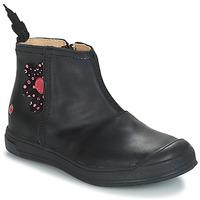Chaussures Fille Bottes ville GBB ROMANE VTE NOIR DPF/EDIT