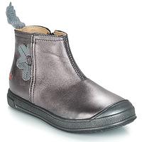 Chaussures Fille Bottes ville GBB ROMANE VTE BOIS DE ROSE DPF/EDIT