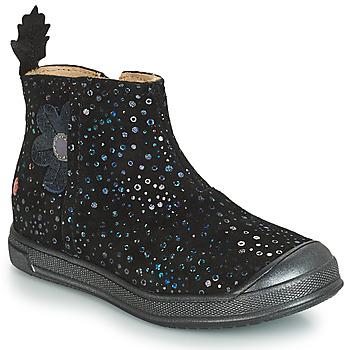Chaussures Fille Sacs Bandoulière GBB ROMANE Noir