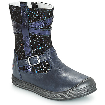 Chaussures Fille Boots GBB NARCISSE Marine