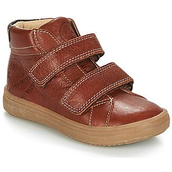 Chaussures Garçon Boots GBB NAZAIRE Marron