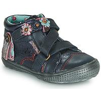 Chaussures Fille Boots Catimini ROQUETTE Marine