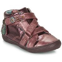 Chaussures Fille Boots Catimini ROQUETTE Bordeaux