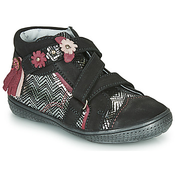 Chaussures Boots Catimini ROQUETTE CTV NOIR-ARGENT DPF/2852
