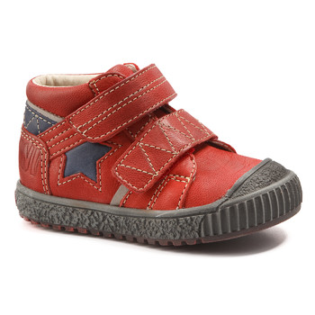 Chaussures Garçon Boots Catimini RADIS VTE ROUGE-MARINE DCH/LINUX