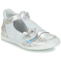 Chaussures Fille Ballerines / babies GBB SERENA Blanc