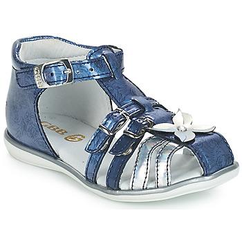 Chaussures Fille Sandales et Nu-pieds GBB SHANICE Bleu