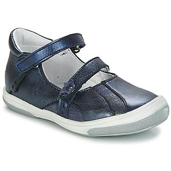 Chaussures Fille Ballerines / babies GBB SYBILLE Bleu