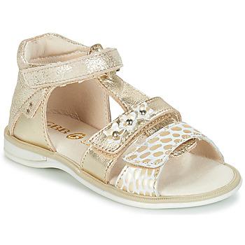 Chaussures Fille Sandales et Nu-pieds GBB SYLVIE Doré