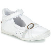 Chaussures Fille Ballerines / babies GBB SALOME Blanc
