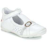 Chaussures Fille Sandales et Nu-pieds GBB SALOME Blanc