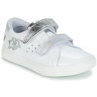 Chaussures Fille Baskets basses GBB SANDRA Blanc / Argenté