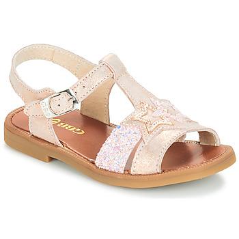 Chaussures Fille Sandales et Nu-pieds GBB SHANTI Rose