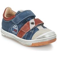 Chaussures Garçon Baskets basses GBB SERGE Bleu / Gris / Rouge