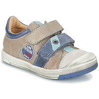 Chaussures Garçon Baskets basses GBB SERGE Gris / Bleu
