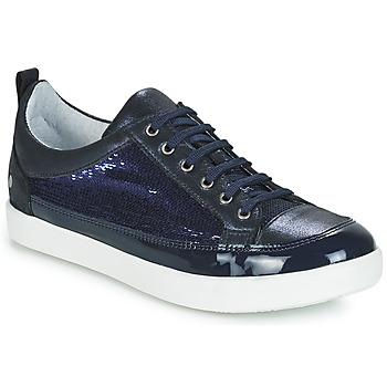 Chaussures Fille Baskets basses GBB ISIDORA Bleu marine