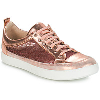 Chaussures Fille Bottes ville GBB ISIDORA VTS ROSE-OR DPF/2706