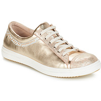 Chaussures Fille Boots GBB GINA VTE BEIGE-OR DPF/2835
