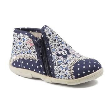 Chaussures Fille Chaussons GBB PILI TTX MARINE-FLEUR DTX/AMIS