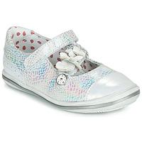 Chaussures Fille Ballerines / babies Catimini STROPHAIRE Argenté