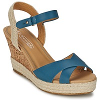 Chaussures Femme Sandales et Nu-pieds Spot on IDIALE Marine