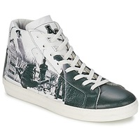 Chaussures Homme Baskets montantes American College BREAKDANCE Noir / Blanc