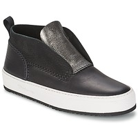 Chaussures Femme Baskets montantes Barleycorn CLASSIC Noir