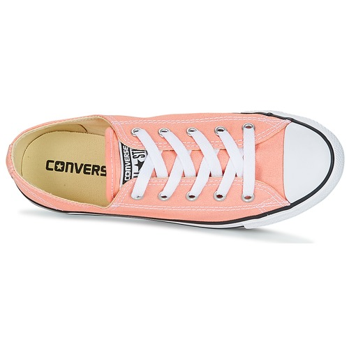 Converse CHUCK TAYLOR ALL STAR DAINTY OX CANVAS COLOR Rose