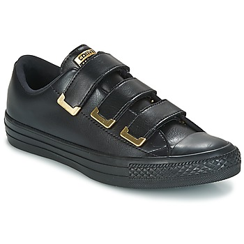 Chaussures Femme Baskets basses Converse CHUCK TAYLOR ALL STAR 3V OX SL + HARDWARE Noir / Or
