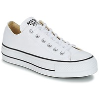 Chaussures Femme Baskets basses Converse CHUCK TAYLOR ALL STAR LIFT CLEAN OX CORE CANVAS Blanc