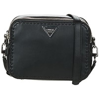 Sacs Femme Sacs Bandoulière Guess SAWYER CROSSBODY TOP ZIP Noir