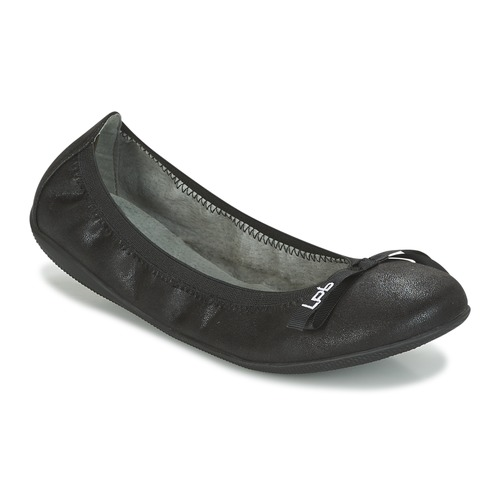 LPB Shoes ELLA VELOUR Noir