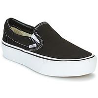 Chaussures Femme Slips on Vans SLIP-ON PLATFORM Noir
