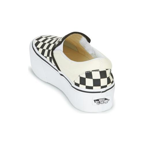 Vans SLIP-ON PLATFORM Noir / Blanc