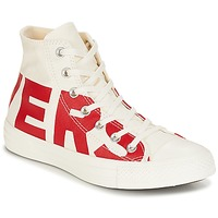 Chaussures Baskets montantes Converse CHUCK TAYLOR ALL STAR HI CONVERSE WORDMARK Blanc / Rouge