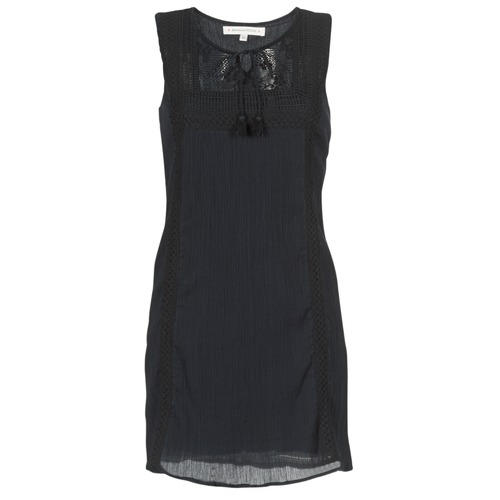 Vêtements Femme Robes courtes Banana Moon ELEANOR MAKENNA Noir