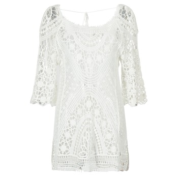 Vêtements Femme Robes courtes Banana Moon MAGBY DREAMLAND Blanc