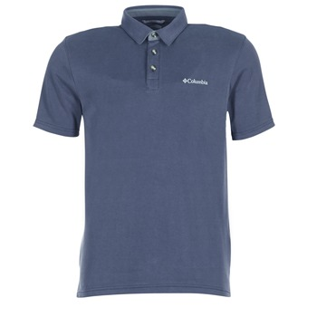 Vêtements Homme Polos manches courtes Columbia NELSON POINT POLO Marine