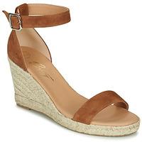 Chaussures Femme Sandales et Nu-pieds Betty London INDALI Marron