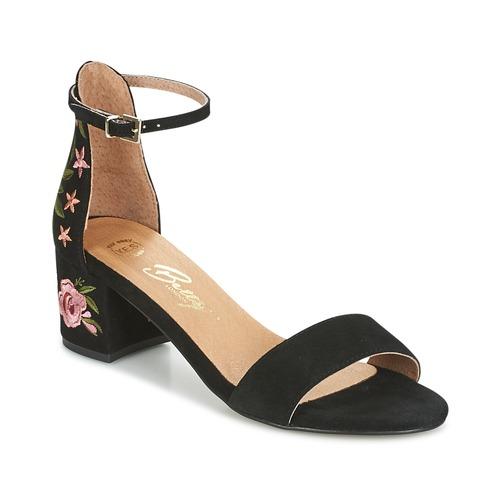 Chaussures Femme Sandales et Nu-pieds Betty London INNUMUTU Noir
