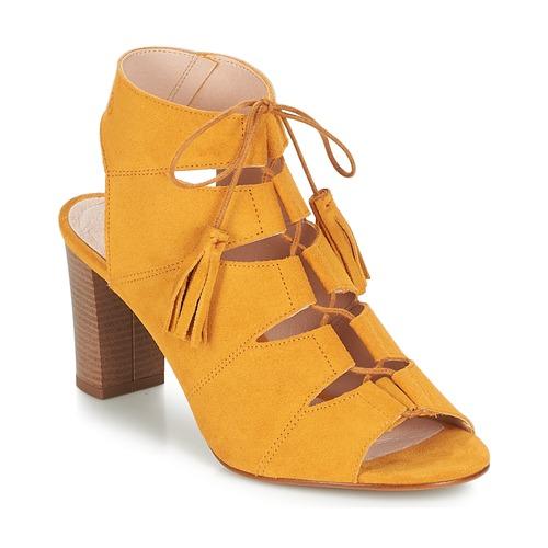 Betty London EVENE Jaune - Livraison Gratuite avec  - Chaussures Sandale Femme
