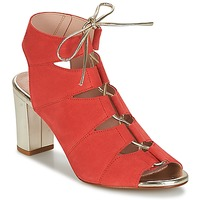 Chaussures Femme Sandales et Nu-pieds Betty London INALU Rouge