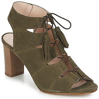 Chaussures Femme Sandales et Nu-pieds Betty London EVENE Kaki