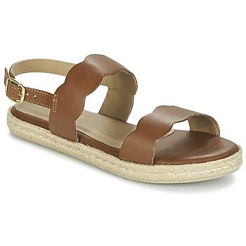 Chaussures Femme Sandales et Nu-pieds Betty London IKARO Marron
